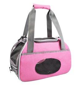 Dog & cat (D) Sport Pet Carrier - Pink