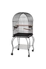 Bird (W) AT Bird Cage - Black - Large