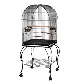 Bird (W) AT Bird Cage - Black - Large
