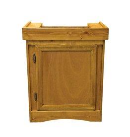 "Aquaria (W) Monarch Cabinet Stand - Oak - 24"" x 12"""