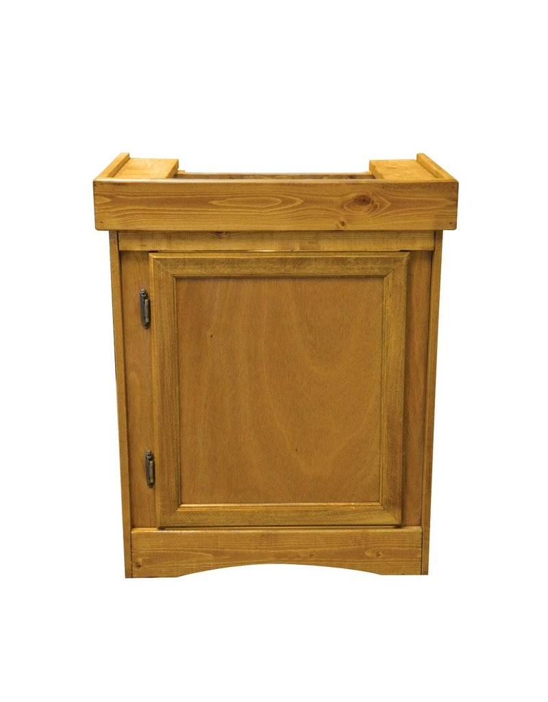 "Aquaria (W) Monarch Cabinet Stand - Oak - 24"" x 12"""