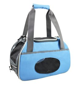 Dog & cat (D) Sport Pet Carrier - Blue
