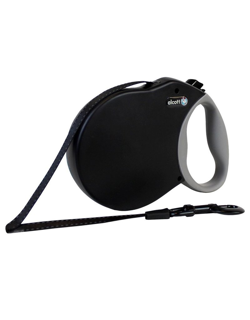 Dog & cat Adventure Retractable Leash - Black - Large
