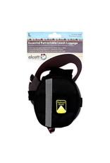 Aquaria Essentials Retractable Leash Luggage - Black - Large