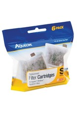 Aquaria (W) AQ Replacement Filter Cartridge - Small - 6 pk