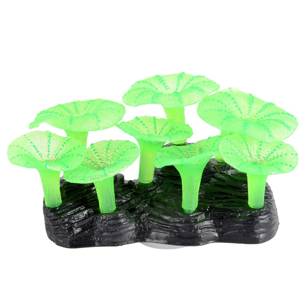 Aquaria Glowing Mushroom Reef -Green