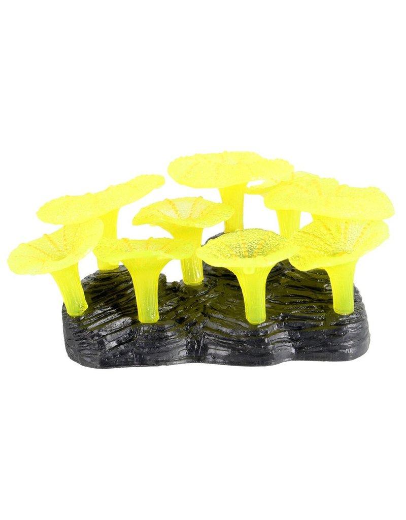 Aquaria (D) Glowing Mushroom Reef - Yellow