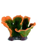 Aquaria (W) Plate Coral - Green/Orange