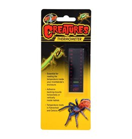 Reptiles (D) Zoo Med Creatures Thermometer
