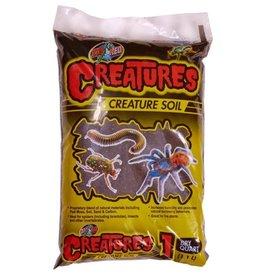Reptiles Zoo Med Creatures Creature Soil - 1 qt