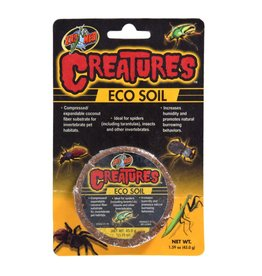 Reptiles (W) Zoo Med Creatures Eco Soil - 1.59 oz