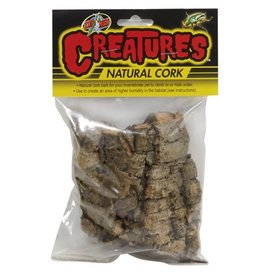 Reptiles (D) Zoo Med Creatures Natural Cork