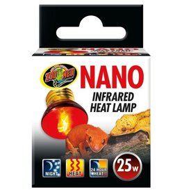Reptiles Nano Infrared Heat Lamp - 25W