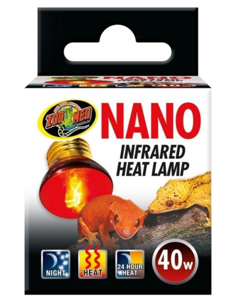 Reptiles Nano Infrared Heat Lamp - 40W
