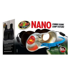 Reptiles Nano Combo Dome Lamp Fixture - 80 W