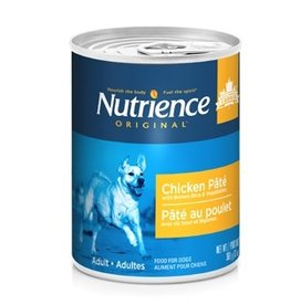 Dog & cat Nutrience Original Healthy Adult - Chicken Pâté with Brown Rice & Vegetables - 369 g (13 oz)