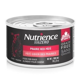 Dog & cat Nutrience Grain Free Subzero Pâté - Prairie Red - 170 g (6 oz)