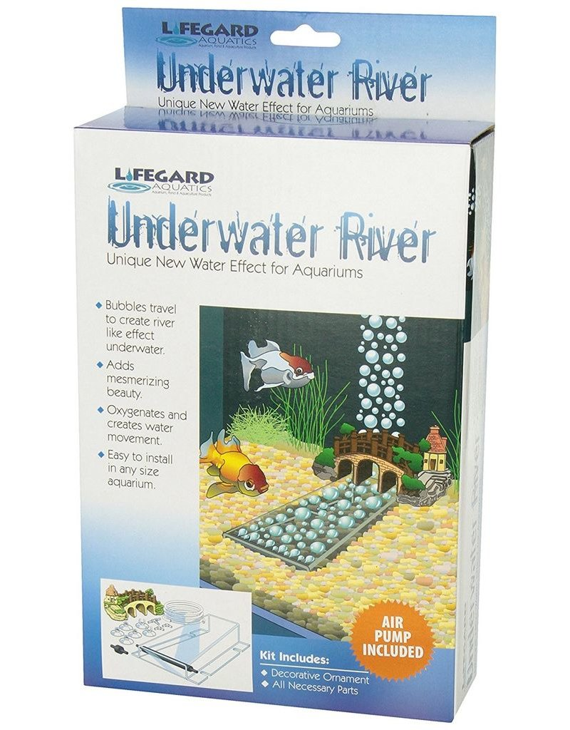 Aquaria (W) Underwater River with Air Pump - Small