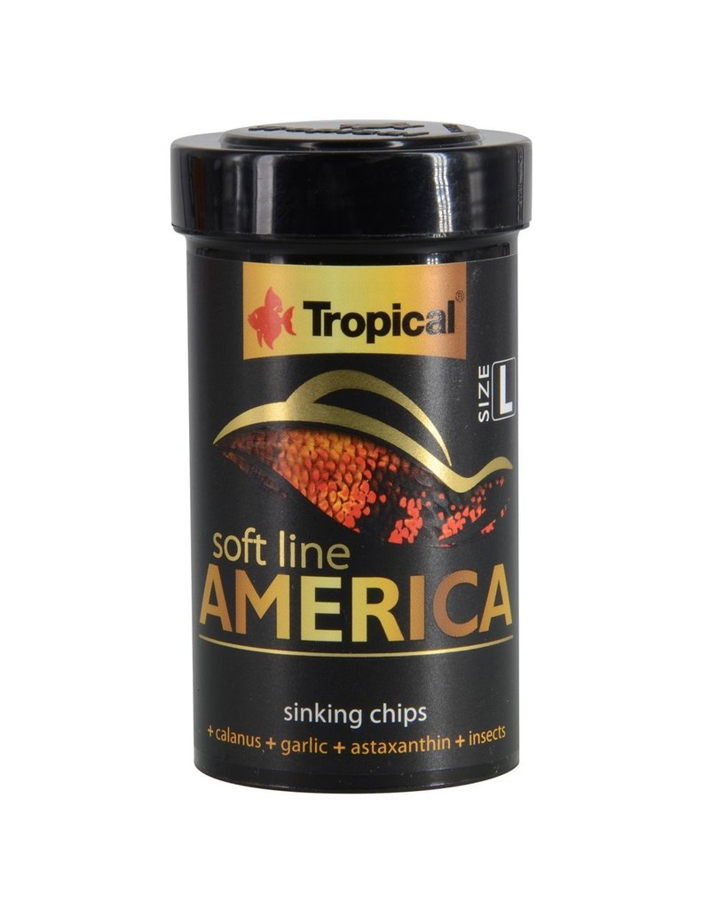 Aquaria (W) Soft Line America - Large Sinking Chips - 52 g