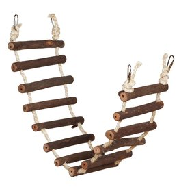 Bird Naturals Rope Bird Ladder - 27.75""