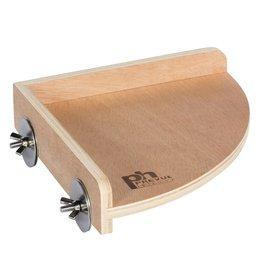 Small Animal (W) Wooden Corner Platform - Small