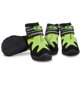 Dog & cat (D) All for Paws All Road Boots, Green, XL  (LC)