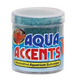 Aquaria (W) Aqua Accents Decorative Substrate - Terminator Teal Sand - 0.5 lb
