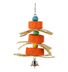 Bird AT Birdie Jingle Pumpkin Sponge Spinner