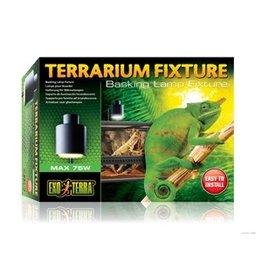 Reptiles (D) Exo Terra Terrarium Fixture - 75 W