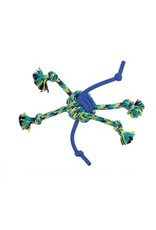 Dog & cat K9 Fitness by Zeus Rope and TPR Spider Ball - 30.48 cm dia. (12 in dia.)