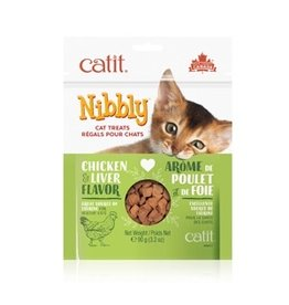 Dog & cat CT Nibbly Cat Cookies -ChicknLiv, 90g