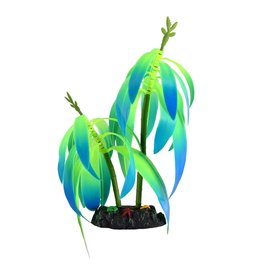 Aquaria (W) UT Glow Action Gradient Color Tree - Green/Blue