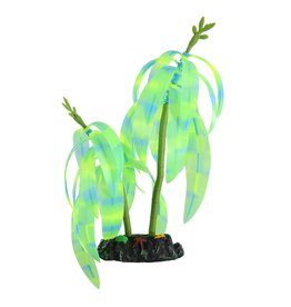 Aquaria (W) Glow Action Striped Color Tree - Green/Blue