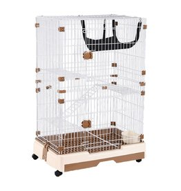 "Small Animal AT Multi-Level Animal Cage - 28"" x 21"" x 44"""