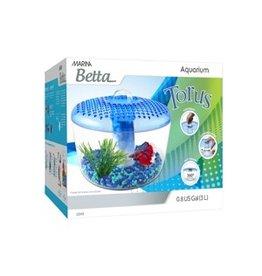 Aquaria Marina Betta Torus Aquarium - 3 L (0.8 US gal.)