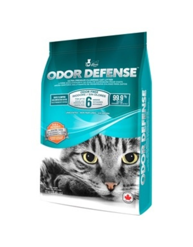 Dog & cat Cat Love Odor Defense Unscented Premium Clumping Cat Litter - 12 kg (26.5 lb)