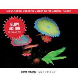 Aquaria (W) UT Glow Action Bubbling Carpet Coral Garden - Green