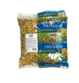 Dog & cat (W) Living World Premium Mix For Small Parrots - 9.07 kg (20 lb)