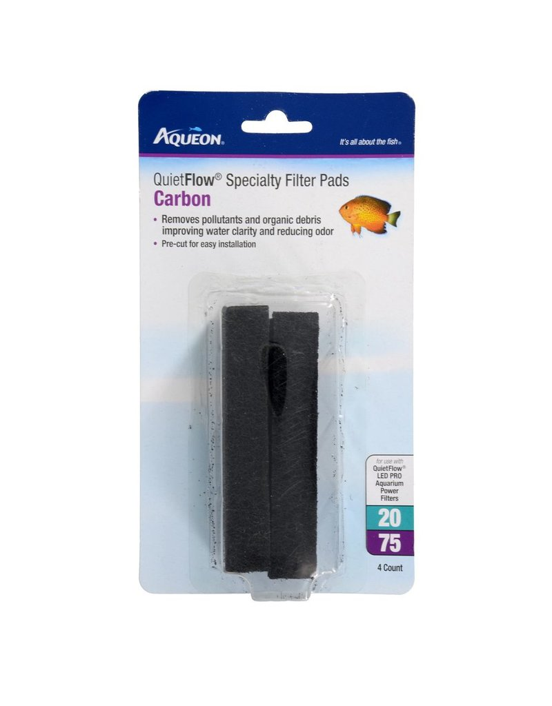 Aquaria Aqueon Carbon Spec Pad for QuietFlow 20/75