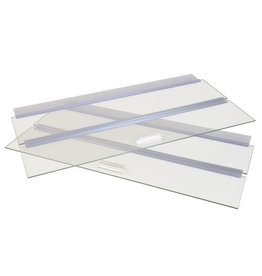"Aquaria (W) Seapora Glass Canopy - 48"" x 13"""