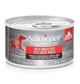 Dog & cat Nutrience Infusion Pâté with Angus Beef - 170 g (6 oz)