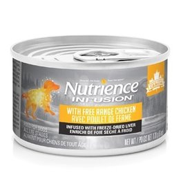 Dog & cat Nutrience Infusion Pâté with Free Range Chicken - 170 g (6 oz)