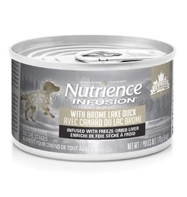 Dog & cat Nutrience Infusion Pâté with Brome Lake Duck - 170 g (6 oz)