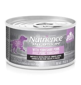 Dog & cat Nutrience Infusion Pâté with Yorkshire Pork - 170 g (6 oz)