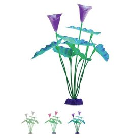 Aquaria GloFish Color-Changing Plant Extra Large Green