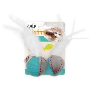 Dog & cat All for Paws - Kitty Feather Ball