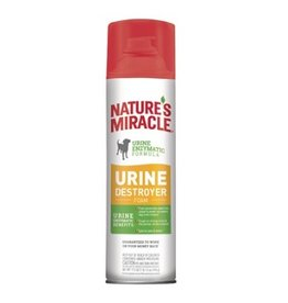 Aquaria Nature's Miracle Dog Stain Urine Destroyer Foam Aerosol 17.5oz