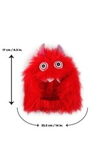 Dog & cat (W) All for Paws - Monster Bunch Hood - Red