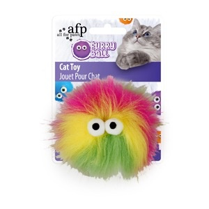 Dog & cat All for Paws - Furry Ball Fluffy - Pink