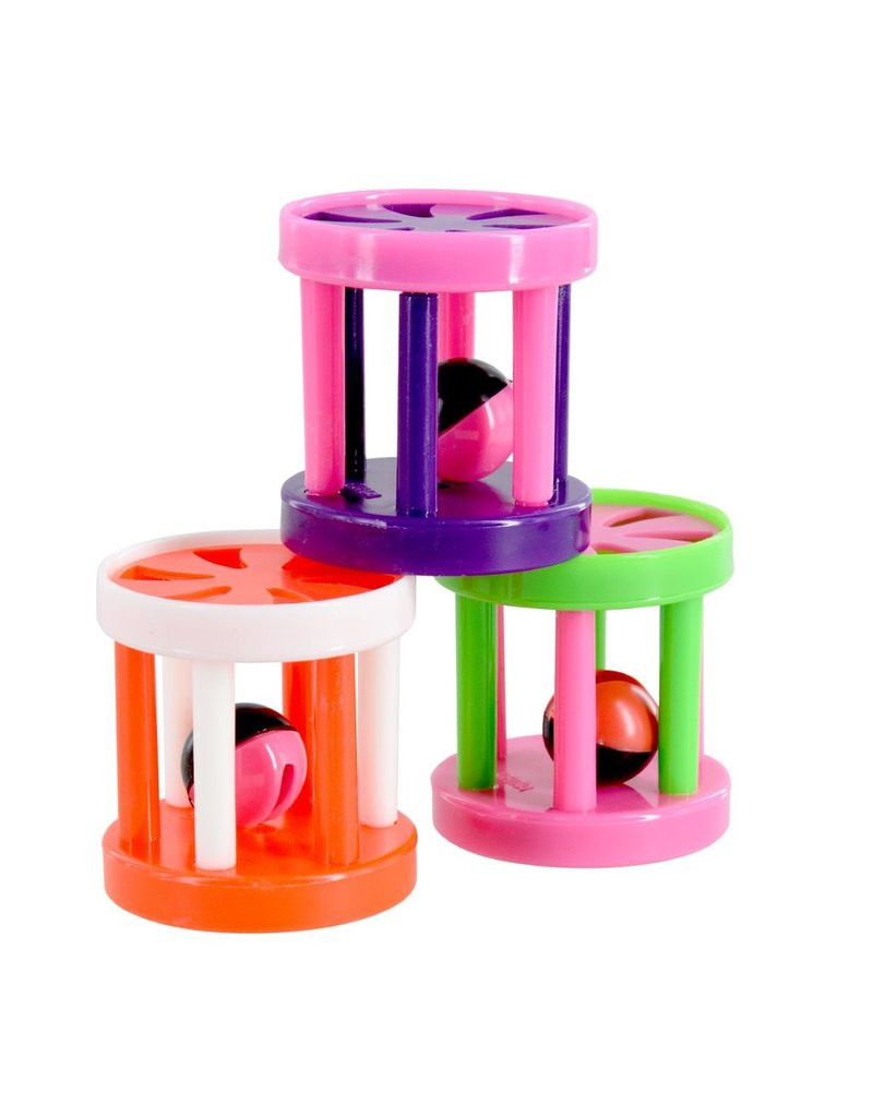 Dog & cat AT Plastic Roller with Bell